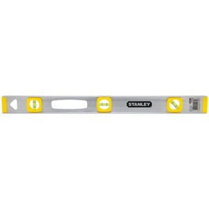 "Picture of 42-074 Stanley Level,Top read level,Hang hole simplifies storage,L 24"",Aluminum"