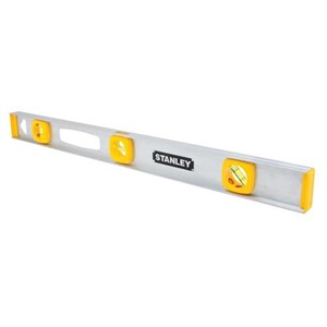 "Picture of 42-076 Stanley Level,Top read level,Hang hole simplifies storage,L 48"",Aluminum"