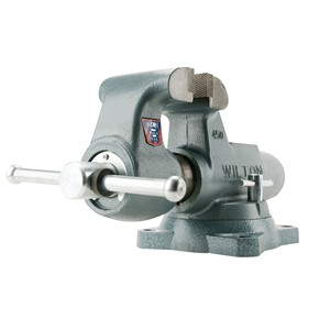 "Picture of 10016 Wilton 400S,Machinists' Bench Vises-Swivel Base,4"" Jaw Width,6-1/2"" Jaw,3-1/2"""