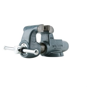 """Picture of 10076 Wilton 400N,Machinists' Bench Vises-Stationary Base,4"""" Jaw Width,6-1/2"""" Jaw,3-1/2"""""""