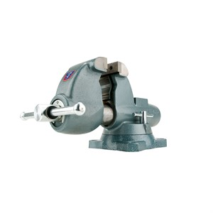 "Picture of 10250 Wilton C-2,Combination Pipe and Bench Vises-Swivel Base,5"" Jaw Width,7"" Jaw,5-5/16"""