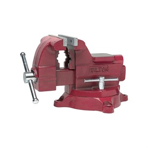 "Picture of 11127 Wilton 675,Utility Vise,5-1/2"" Jaw Width,5"" Jaw,3-3/16"""