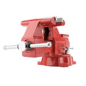 "Picture of 11800 Wilton 648HD,Workshop Vise,8"" Jaw Width,7-1/2"" Jaw,4-1/2"""