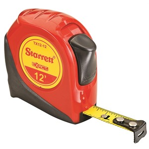 "Picture of KTX12-12-N Starrett Exact Tape Measure,1/2""x12'"
