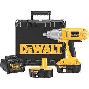 "Picture of DW059K-2 DeWalt Cordless Impact Wrench,18V 1/2"" High Torque Cdls. Impact Wrench Kit"