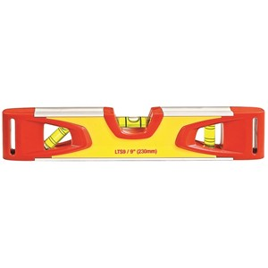 Picture of KLTS9-N Starrett Aluminum Magnetic Torpedo Level,9""