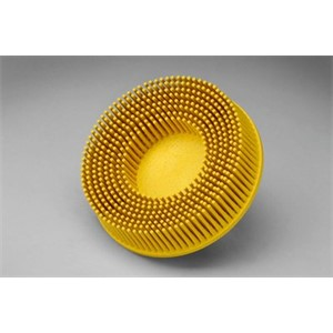 "Picture of 48011-18736 3M-Brite Roloc Bristle Disc,3""x5/8 Tapered 80"