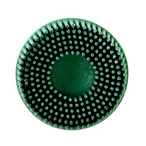 "Picture of 48011-18737 3M-Brite Roloc Bristle Disc,3""x5/8 Tapered 120"