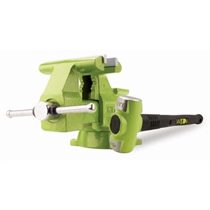 "Picture of WIL11128BH Wilton Special Edition B.A.S.H. 6.5"" Utility Vise and 4 lb. Hammer Combo"