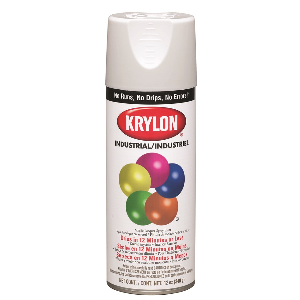 K02001 krylon industrial interior exterior paint hunter green 16 oz tool n supply home Spray paint supplies