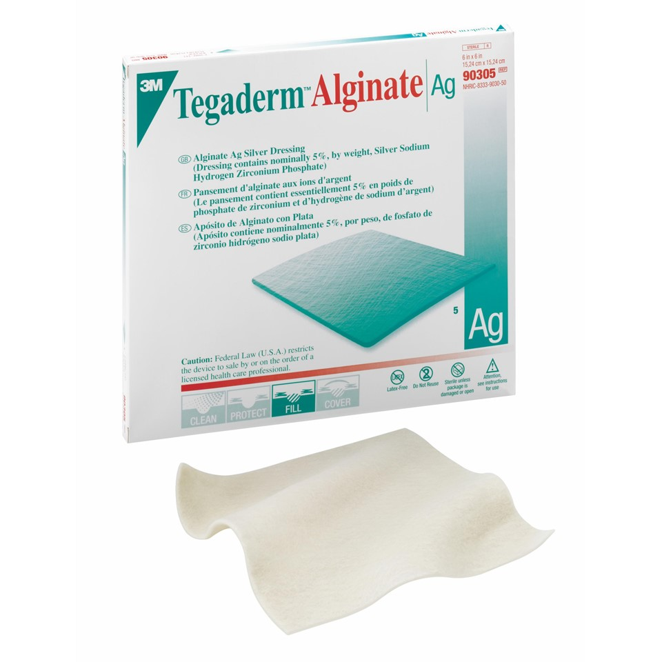 products for industry 07387 58361 3m tegaderm alginate ag silver dressing 90305. Black Bedroom Furniture Sets. Home Design Ideas