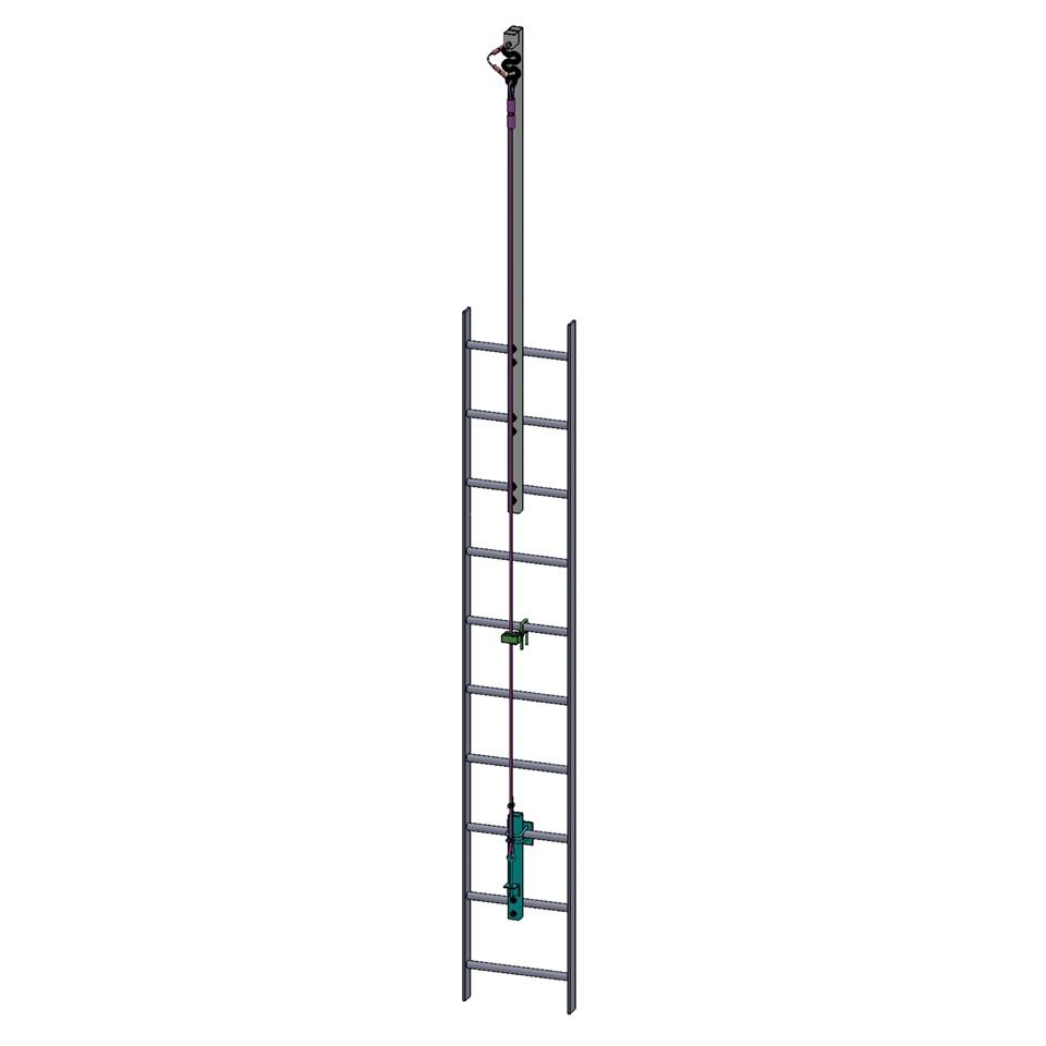 Decatur Industrial Supply 78371 01286 3m M400 Ladder Climb Vertical