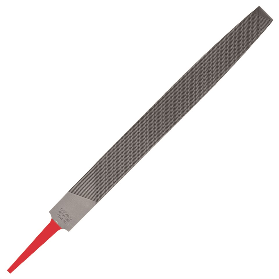Products For Industry  73233000 Simonds Flat Smooth File