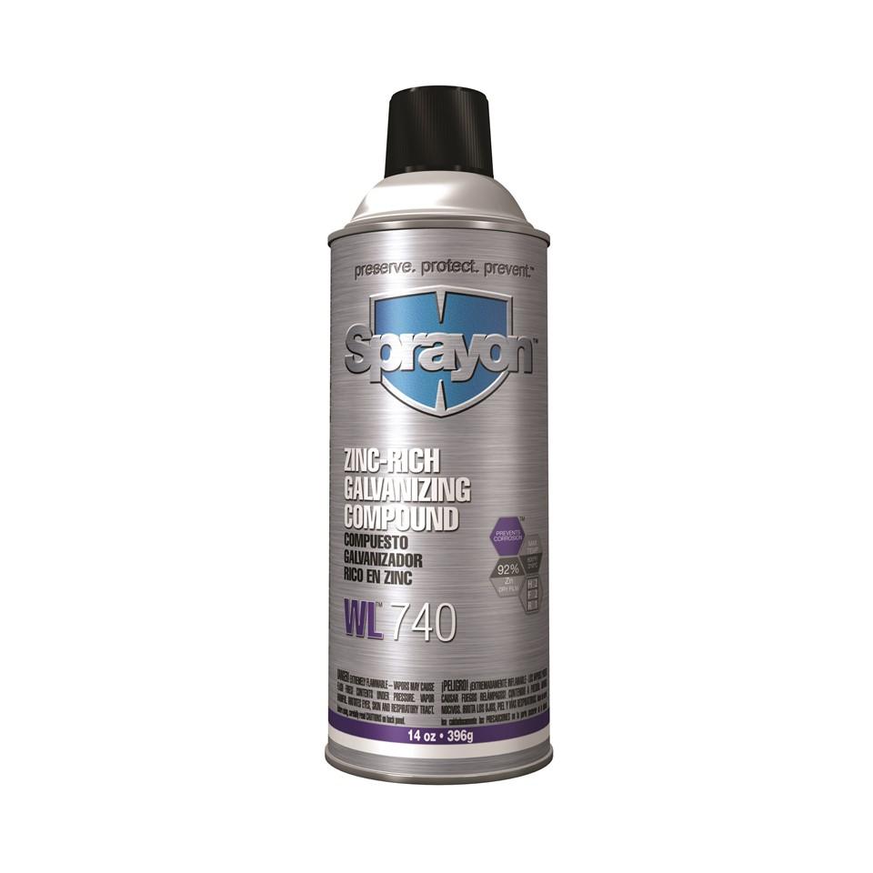 Picture Of S00740 Sprayon Zinc Rich Cold Galvanizing Compound 16 Oz Net Wt